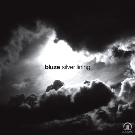 Artwork for the Silver Lining EP by Bluze, out soon on ALTOSYNC